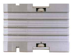 Conveying tracks (feeding track / feeding tracks) for blister packaging systems